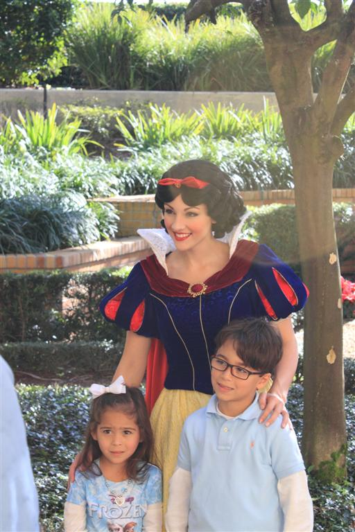 Snow White and Random people's kids.