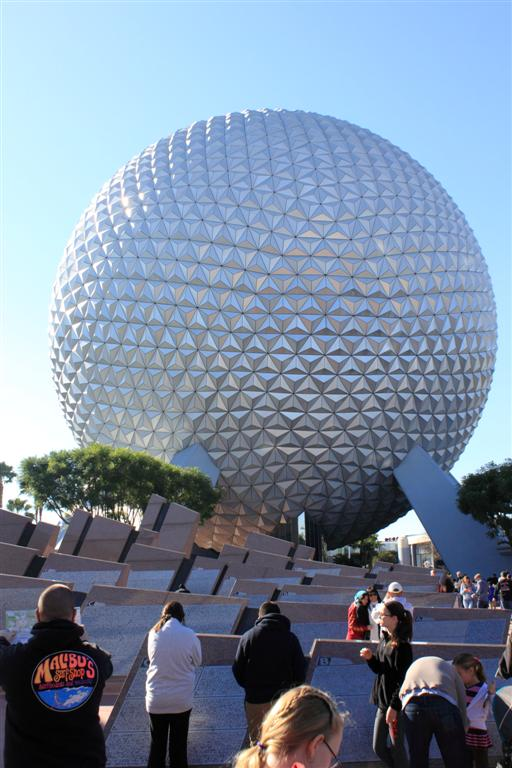 Epcot ball again