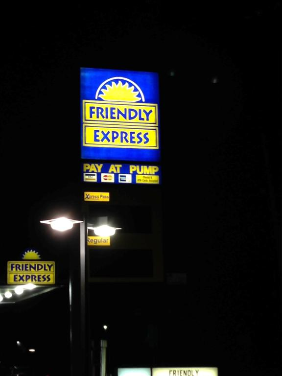 The Friendly Express - one of many wonders of the South Caorlina back roads.