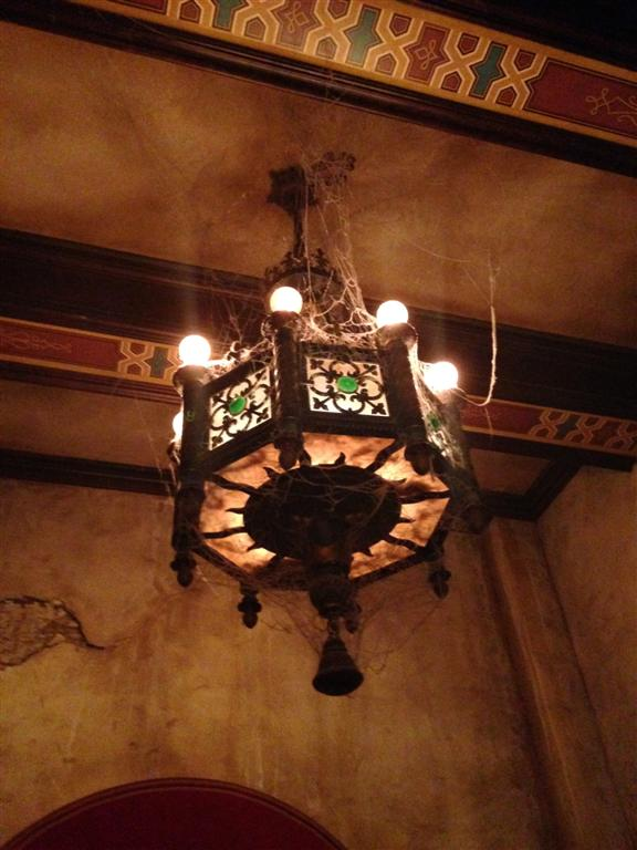 Tower of Terror lobby - they need to clean up.