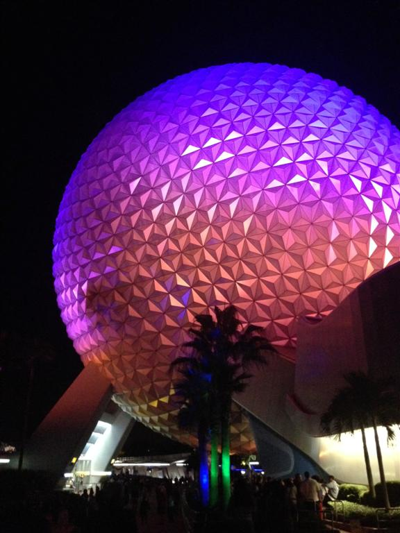 Epcot has big balls.